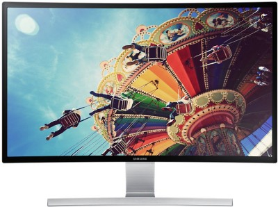 Samsung 27 inch LED Backlit LCD   LS27D590CS/XL Monitor Black and Silver available at Flipkart for Rs.29495