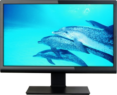 Micromax 19.5 inch LED Backlit LCD - MM195H76  Monitor (Black)