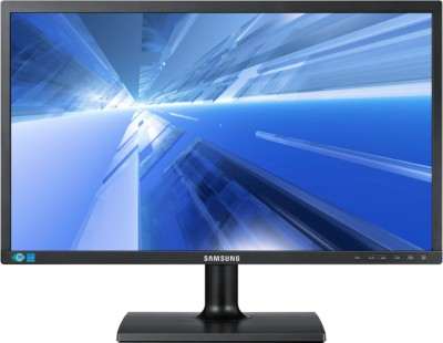 Samsung LS19C200NY/ND 18.5 inch LED Backlit LCD Monitor Matt Black available at Flipkart for Rs.6528