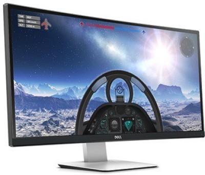Dell 34 inch LED - U3415W Curved  Monitor (Black)