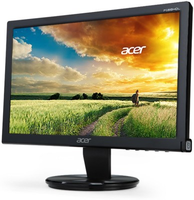 Acer P166HQL 15.6 inch LED Backlit LCD Monitor (Black)