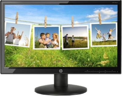 HP 19.4 inch LED Backlit LCD - 20wd  Monitor (Black)