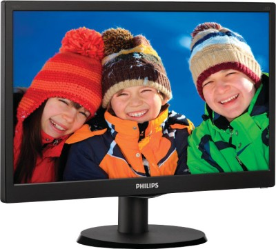 Philips 163V5LSB23/94 15.6 inch LED Backlit LCD Monitor (Black)