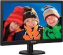 Philips 203V5LSB26 19.5 Inch LED Backlit LCD Monitor - Black