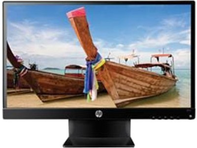HP 21.5 inch LED Backlit LCD - 22vx  Monitor (Black)