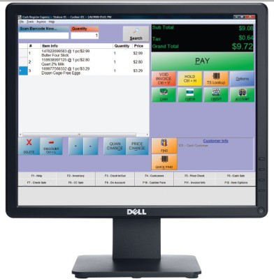 Dell E1715S 17 inch LED Backlit LCD Monitor (Black)