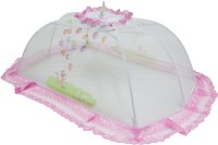 Rachna Baby 01 Small Printed Mosquito Net (Light Pink)