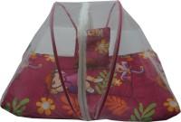 Muren Baby Bedding Set With Mosquito Net - Girl Mosquito Net (Pink)