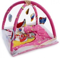 ROYAL SHRI OM BABY BEDDING SET WITH MOSQUITO NET Mosquito Net (PINK)