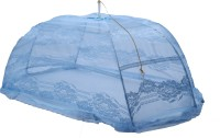 Riddhi Blue Designer Polyster Umbrella For Babys Mosquito Net (blue)