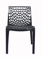 Supreme Web PP Moulded Chair (Finish Color - Black Set Of - 4)