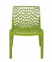 Supreme Web PP Moulded Chair (Finish Color - Mehndi Green Set Of - 4)