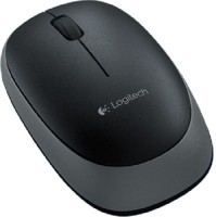 Logitech M165 Wireless Optical Mouse Mouse (USB Receiver, Black)