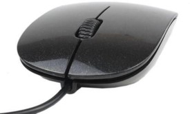 Iconnect World Silm 3d Optical Usb For Laptop And Desktop Wired Optical Mouse Gaming Mouse