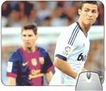 Headturnerz Ronaldo and Messi Mousepad
