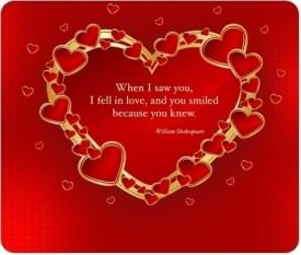 Allthingscustomized Love Gift Mousepad