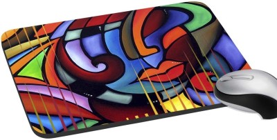 Holicshop Lady Art Digitally Printed Mousepad