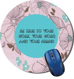Printland Floral Pattern Mousepad