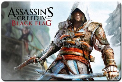Bluegape Assassins Creed Mousepad Multicolor