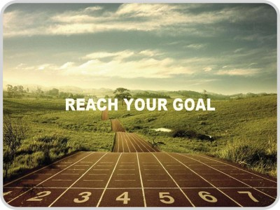 Shopkeeda Reach Your Goal Mousepad Multicolor
