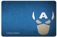 RangeeleShope Captain America Minimalist Mousepad Mousepad (Blue)
