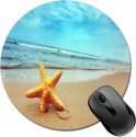 SBBT Star Fish In The Beach Of Sea Mousepad (Multicolor)