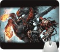 Headturnerz Demon Horse Ride Mousepad - Multicolor