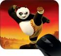 Huppme Kung Fu Panda Mousepad Mousepad (Black)