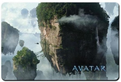 RangeeleShope Avatar Movie Floating Island Mousepad Mousepad