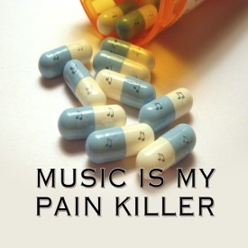 Allthingscustomized Music is My Pain killer Mousepad