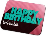 Amy Happy Birthday Best Wishes Mousepad