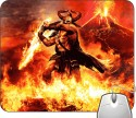 Headturnerz Amon Amarth Fire Demon Mousepad - Multicolor