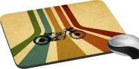 MeSleep Classic Bike Mousepad (Multicolor)