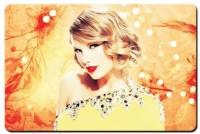 Leepix Taylor Swift Glitterati Mousepad (Yellow)