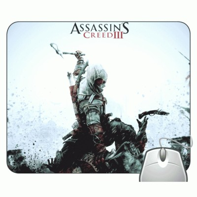 Headturnerz Assassins Creed 3 Fight Mousepad Multicolor