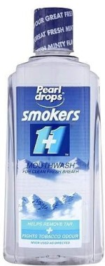 Pearl Drops Mouthwash Pearl Drops Smokers 1+1 Mouthwash Natural