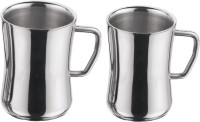 King International Cappuccino Stainless Steel Mug (Pack Of 2)
