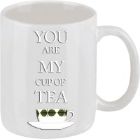 Elli Gifts You Are My Cup Of The Tea Coffee Mug Ceramic Mug (325 Ml)