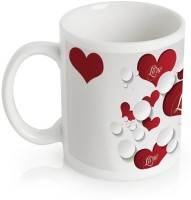 Amore Love Valentine Day 149579 Mug (White, Pack Of 1)