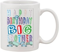 Elli Gifts Happy Birthday My Big Brother BB14 Ceramic Mug (325 Ml)