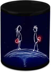 HomeSoGood Beginning Of A New Relationship Ceramic Mug