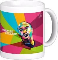 Exoctic Silver Chennai Super King IPL Series XXX 010 Ceramic Mug (300 Ml)