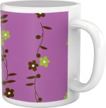 Tiedribbons Cups & Mugs Tiedribbons Shy Shine_Geometric Multicolor_ Bela Pattern Ceramic Mug
