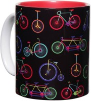 The Elephant Company Joyride Colorful Ceramic Mug (300 Ml)