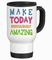 Tiedribbons Make Today Ridiculously Gifts For Friend Stainless Steel Mug (350 Ml)