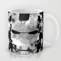 Astrode Iron Man Parody Of The Rorschach Test Ceramic Mug (325 Ml)