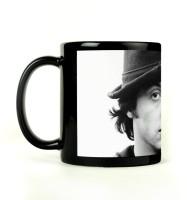 Shoprock Sylvester Stallone Mug (Black, Pack Of 1)