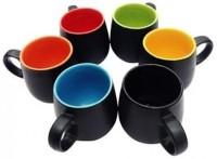 TG's TC113 Ceramic Mug (250 Ml, Pack Of 6)