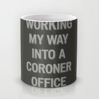 Astrode The Coroner Office Ceramic Mug (325 Ml)