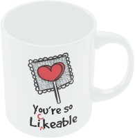 PosterGuy You Are So Likeable Coffee Mug (White, Pack Of 1)